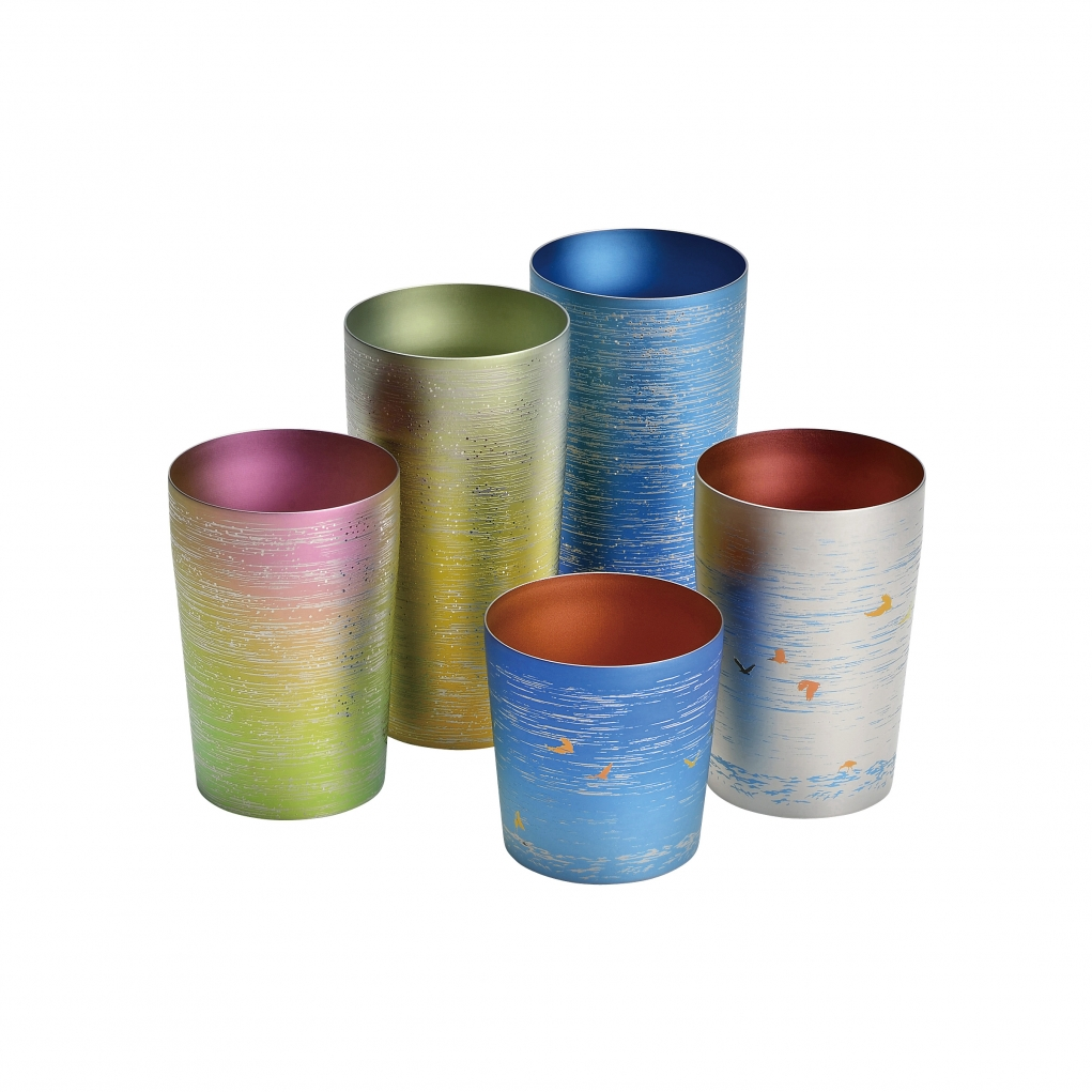 Pure Titanium Double-Wall Tumblers
