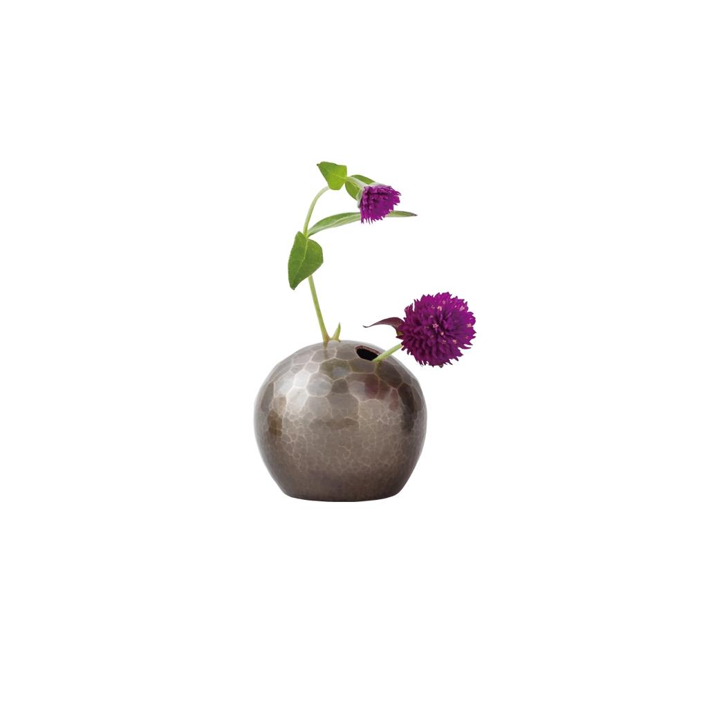 """Tsuiki Copper Ware""Flower Ball"