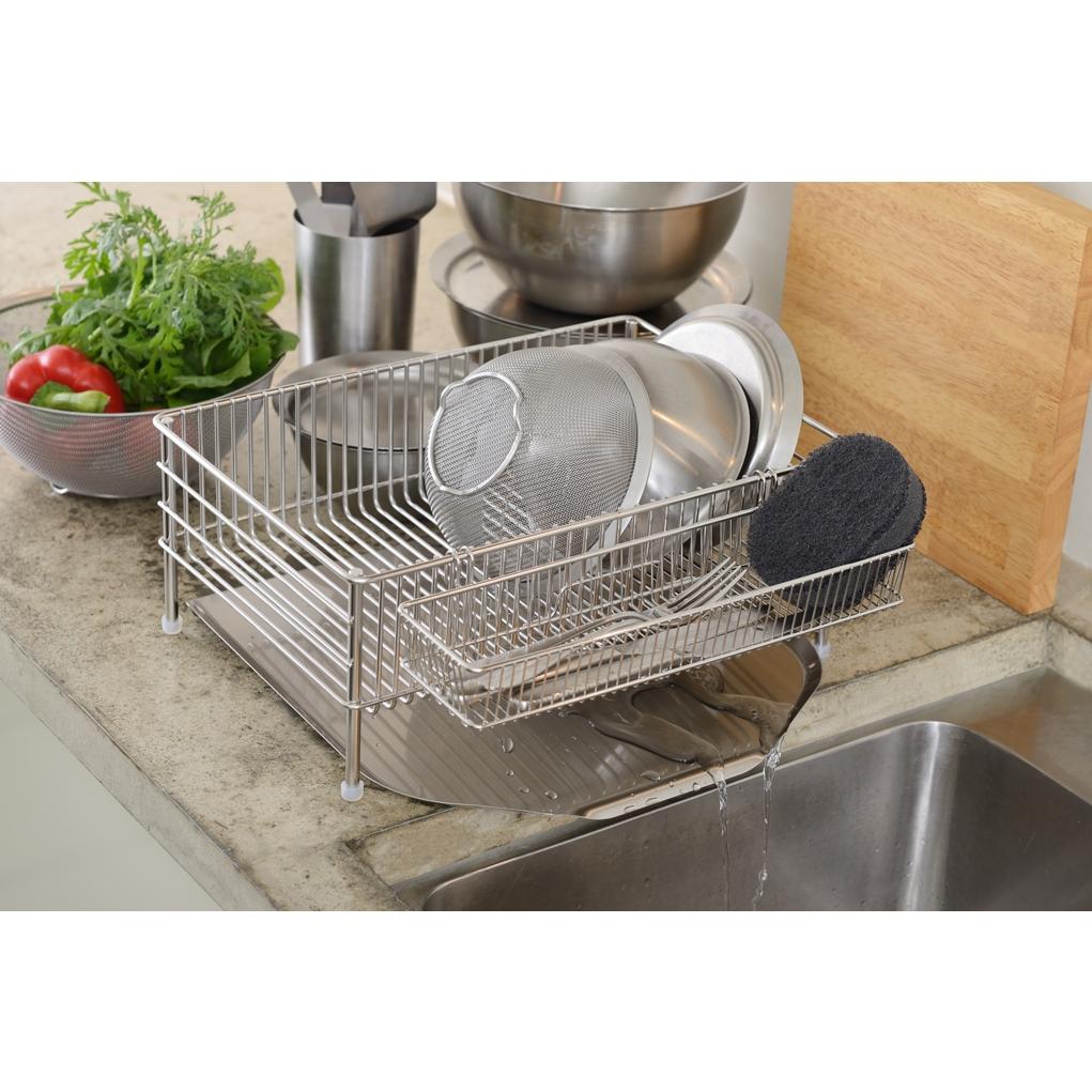 Dish drainer set